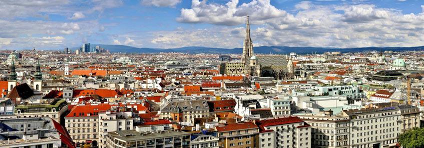 Stadtansicht Wien