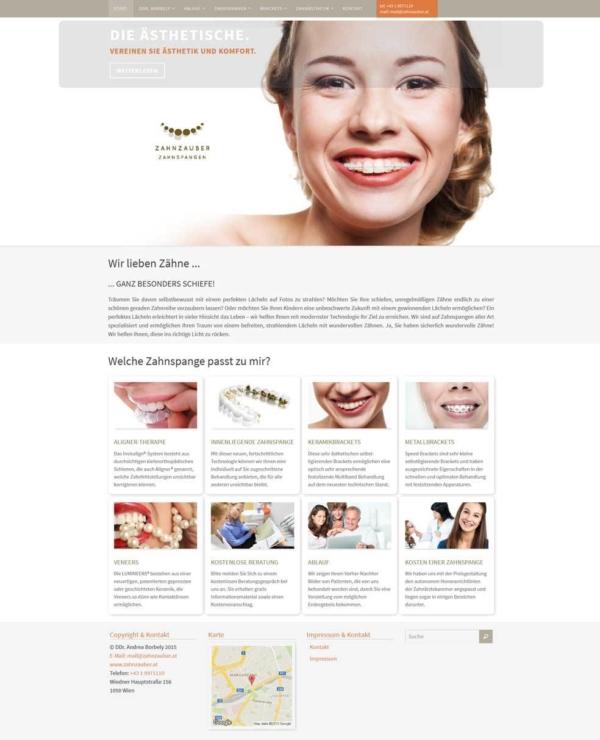 Zahnarzt Website Relaunch unter Bewahrung der bestehenden SEO