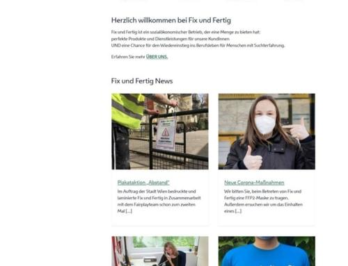 FixundFertig – ein Projekt der Suchthilfe Wien