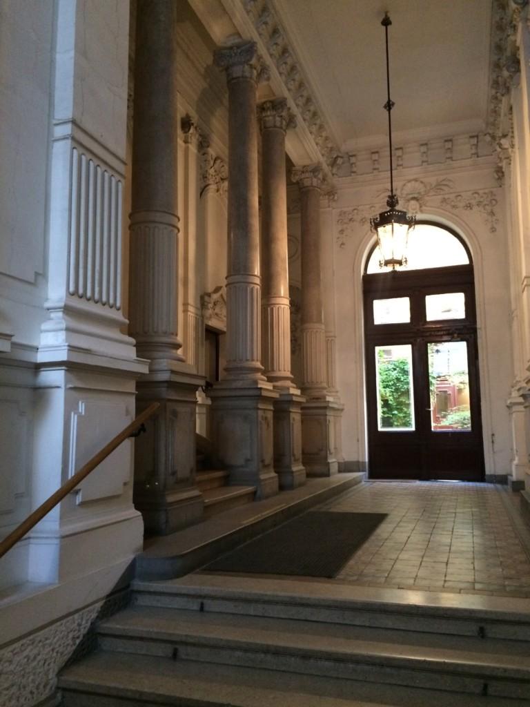 Büro wienerhomepages, Lehargasse 3 - 1060 Wien, das Haus innen