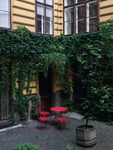 Büro wienerhomepages, Web- und SEO Agentur - der Innenhof