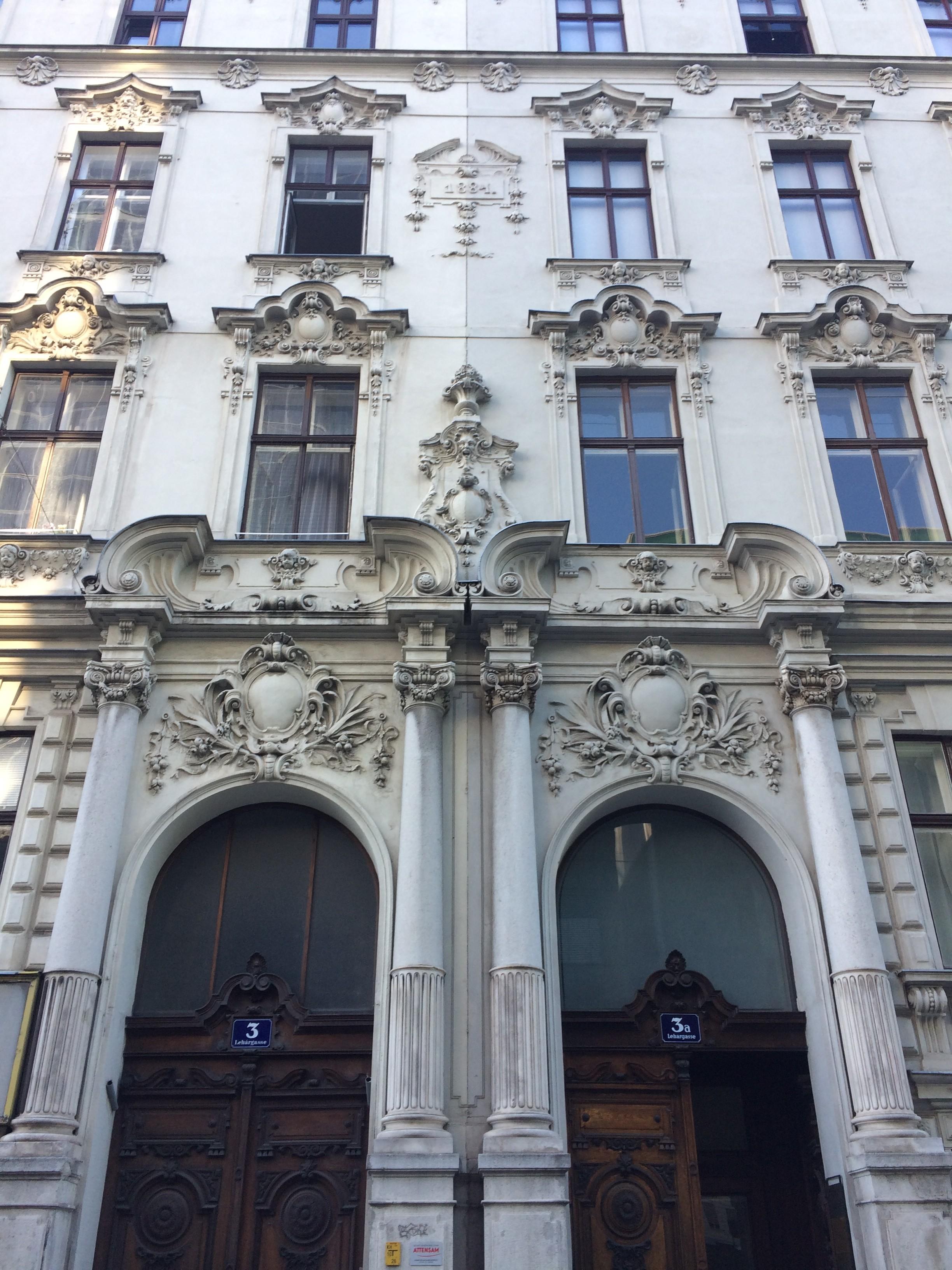 Aussenaufnahme Büro wienerhomepages, Lehargasse 3 - 1060 Wien