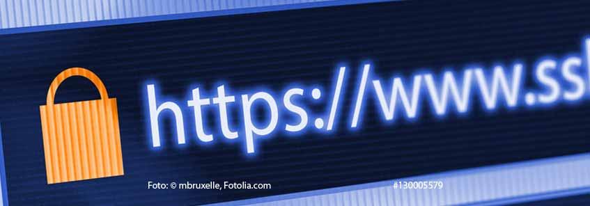 Google Chrome markiert ab Juli 2018 generell alle Seiten ohne HTTPS als unsicher